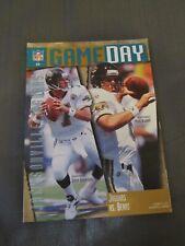 1995 Jacksonville Jaguars vs. Chicago Bears Program Mark Brunell Steve Beuerlein