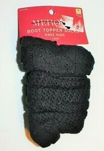 "Merona Boot Topper Socks ""KNEE HIGH"" OSFM"