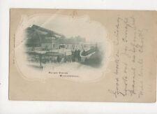 Railway Station Middlesbrough 1903 U/B Postcard Allen 182b