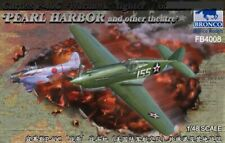 "Bronco 1/48 Curtiss P-40C `Warhawk` Fighter ""Pearl Harbor & Other Teatre"" #4008"