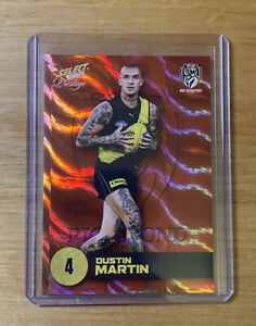 2021 SELECT FOOTY STARS PRESTIGE ORANGE DUSTIN MARTIN 064/210