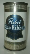 "Old 1950's Pabst Blue Ribbon Beer Can ""Finest Beer Served , Anywhere!"""