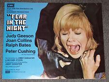 FEAR IN THE NIGHT orig HAMMER pressbook PETER CUSHING/JOAN COLLINS/JUDY GEESON