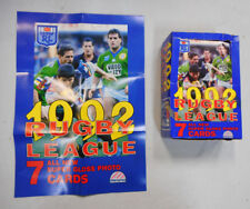 1992 RUGBY LEAGUE REGINA COUNTER DISPLAY  BOX AND POSTER