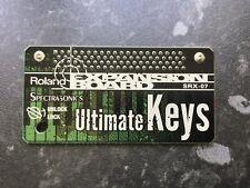 Roland SRX-07 Ultimate Keys Expansion Board VGC