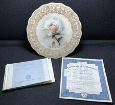 1998 Bradford Exchange Diana, A Rose Everlasting Musical PlateW/ Certificate