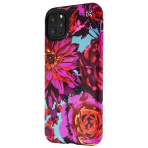 Speck Presidio Inked Case for iPhone 11 Pro Max - HyperBloom Matte/Lipstick Pink