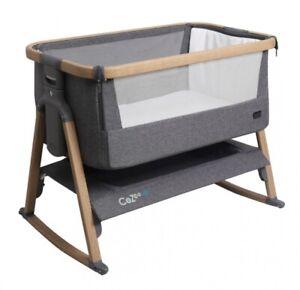 tutti bambini cozee bedside crib In Charcoals