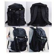Korea New Men Women Multiple Pocket Backpack School Travel Riding Climbing Bag