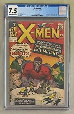 X-MEN #4 Marvel 1964 CGC 7.5 Quicksilver Scarlet Witch and Toad 1st Appearance