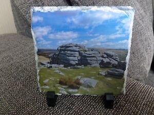 Pew Tor Dartmoor Photo on Slate (UK)