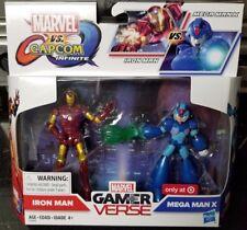 "Marvel Legends 3.75"" Marvel vs Capcom IRON MAN VS MEGA MAN X 2-Pack NEW IN STOCK"