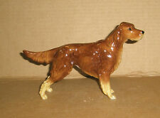 Dog Figurine Irish Setter