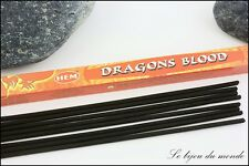 encens SANG du DRAGON encens Indien Hem bien être boite de 8 bâtonnets EIHB 13