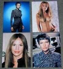SET OF FOUR Jolene Blalock STAR TREK,10 x 8 PHOTO'S,BARGAIN LOT,SET.FREE P&P! 38
