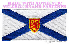 NOVA SCOTIA FLAG PATCH CANADA EMBROIDERED CANADIAN w/ VELCRO® Brand Fastener