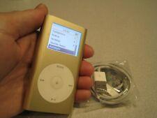Apple iPod mini 1st Generation GOLD (4 GB) A1051