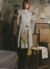 Anthropologie Sleeping on Snow Soft Pour Sweater Dress S RARE Sweaterdress
