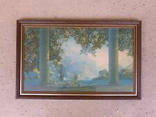 AUTHENTIC LARGE MAXFIELD PARRISH TITLED DAYBREAK PRINT