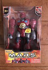 "Cybotronix Walking Robot 7"" Mars Motorized Attack Robo Squad Light Up Toy"