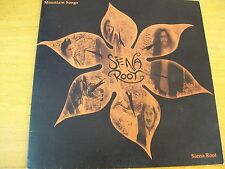 "SIENA ROOT MOUNTAIN SONGS I-2  7""  MINT--"