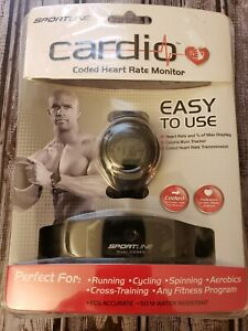 Sportline Cardio 680 Men's Coded Heart Rate Monitor new
