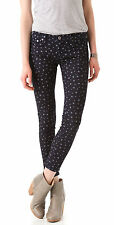 NWT Adriano Goldschmied AG Jeans The Legging in Star Print Skinny Jeans 24 $178