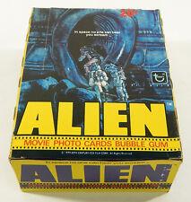 1979 Topps ALIEN Movie Photo Cards Empty Display Box ^ HR Giger Ridley Scott