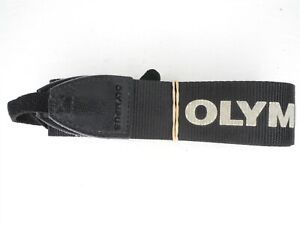 Olympus Black / Gray Camera Neck Strap Included w/ E-300 (Fits Other Models)