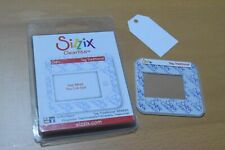 SIZZIX CLEARLITS Traditional Tag Die Cutter 5.5 x 3cm