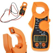 LCD Auto Digital Multimeter Electronic Voltage Current Tester AC/DC Clamp Meter