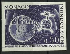 Monaco Espace Mondiovision Space Weltraum Essai Color Proof Essay ** 1962 100€
