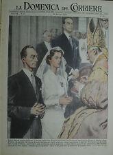 """"""" LA DOMENICA DEL CORRIERE N°02/ 10.GEN.1954 - ANNO 56 """""""