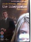 NICOLE KIDMAN SEAN PENN The interpreter ~ 2005 Conspiracy Thriller GB DVD