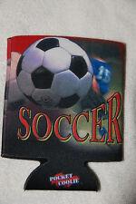 Soccer pocket coolie keeps drinks cold