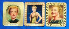 Renate Müller 1936 Aurelia Film Star Embossed Cigarette Cards Lot of 3