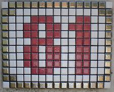 Numero civico in mosaico di ceramica PROMOZIONE!