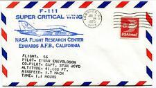 1975  F-111 Super Critical Wing - Flight Research Center Edwards California NASA