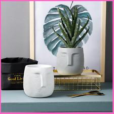 Ceramic Flower Pots European Style Cement Fashion Art Personality Indoor Plants