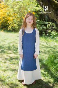 Medieval Overdress Children Dress Ylva /Larp - Sea Blue From Burgschneider