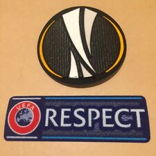 UEFA Europa League patch set- Manchester United, Arsenal