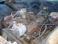 1966 Pontiac Complete 389 Engine GTO Tri Power YC code 290 HP Block Catalina 2+2