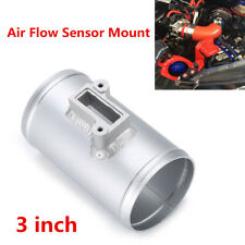 "New 3"" Aluminium Air Flow Sensor Mount High Performance Air Intake Meter Adapter"