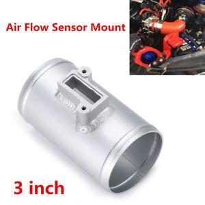 "New 3"" Aluminium Air Flow Sensor Mount High Performance Air Intake Meter Adapter"
