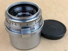 Contax RF Carl Zeiss Jena 3.5cm F/2.8 Biogon Lens #2392979 w/ caps - Good Glass