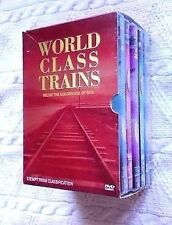 WORLD CLASS TRAIN: RELIVE THE GOLDEN AGE OF TRAIN: VOL. 1-6 (6-DVD BOX SET) R-4