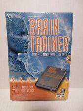 NEW Brain Trainer Spin Master SEGA Exercise Test Prefrontal Cortex Memory Focus