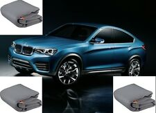 TELO COPRIAUTO TELATO FELPATO BMW X4 M40I ANNO 2017 IMPERMEABILE ZIP LATO GUIDA