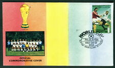 1986 Union Island, St Vincent Football World Cup Mexico. FIFA Cover