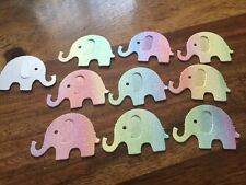 100 colori pastello Arcobaleno Festa Coriandoli Tavolo Elefanti Battesimo Baby Shower
